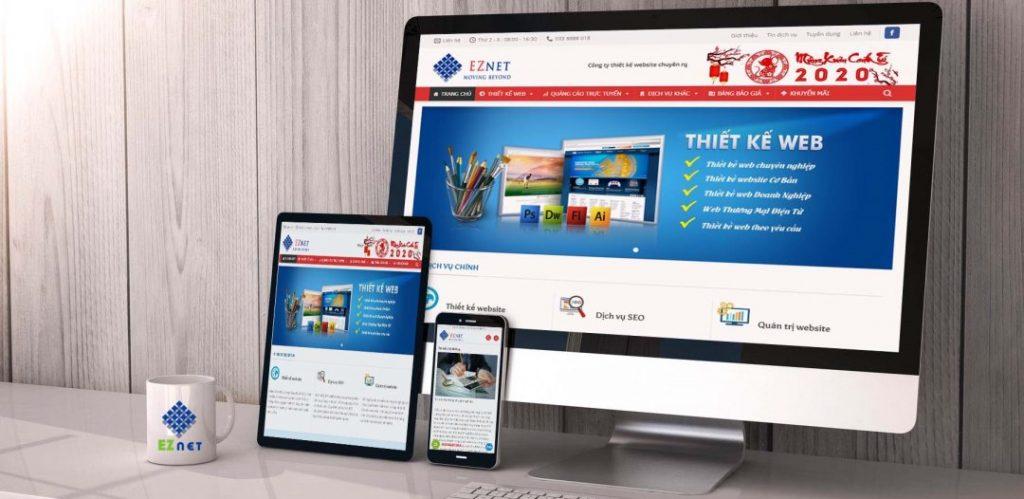 Website công ty thiết kế web