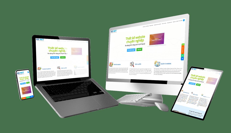 website đa ngành nghề