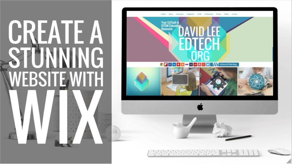 Wix giúp mọi người dễ dàng thiết kế một trang web trực quan 100% và sau đó xuất bản nó chỉ bằng một cú nhấp chuột.